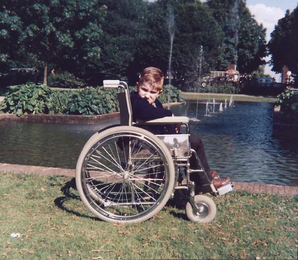 Mijn eerste rolstoel