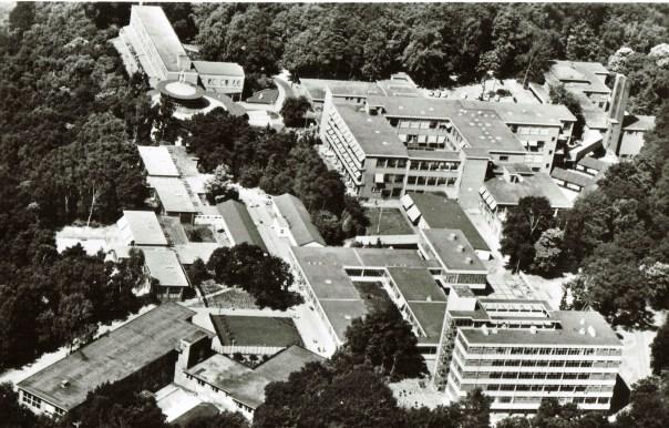 luchtfoto sint Maartenskliniek Nijmegen 1971