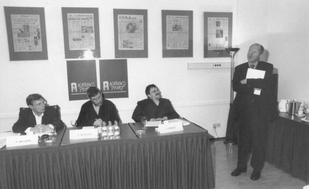 Overleg met Staatssecretaris Willem Vermeend samen met Ruud Betsman en Henk Weijnen!
