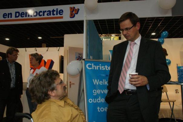 Andre Rouvoet Christen Unie fractievoorzitter 2004