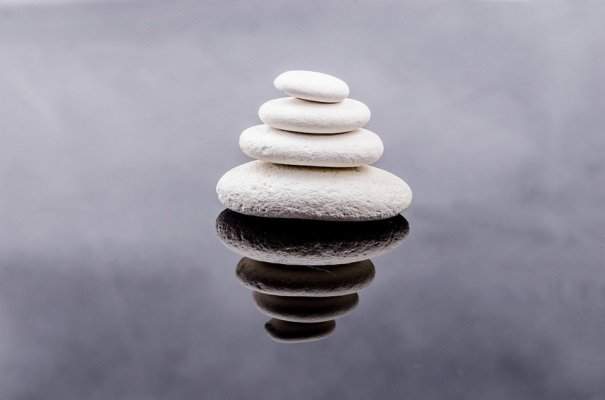 4 Pierres pour être Zen