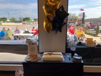 Trophy Insurance Celebration Cake