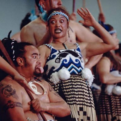 Māori Performers in action