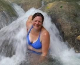Fabulous fun at Dunn's River Falls.