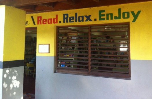 Perfect invitation to the Trench Town Reading Room