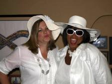 My fabulous Diva Moe, who always teaches me to life full out!.