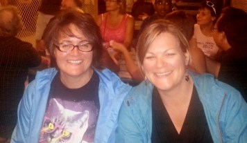 My best friend of 43 years - we don't look old enough to have been friends that long. :)