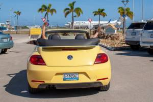Tropical Car rental Bonaire - enjoy the car