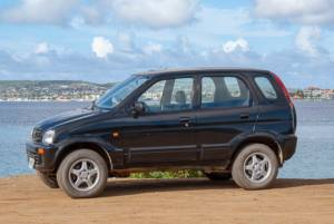 Tropical car rental Bonaire - Daihatsu Terios auto huren