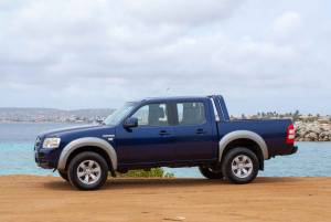 Tropical car rental Bonaire - Ford F150 auto huren