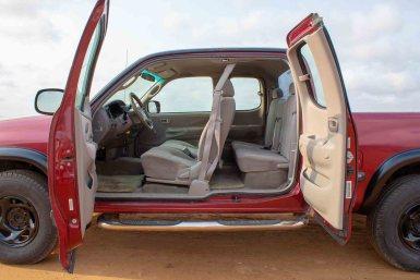 Tropical Car rental Bonaire - Toyota Tundra te huur