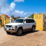 Tropical Car rental Bonaire - National park car for one day