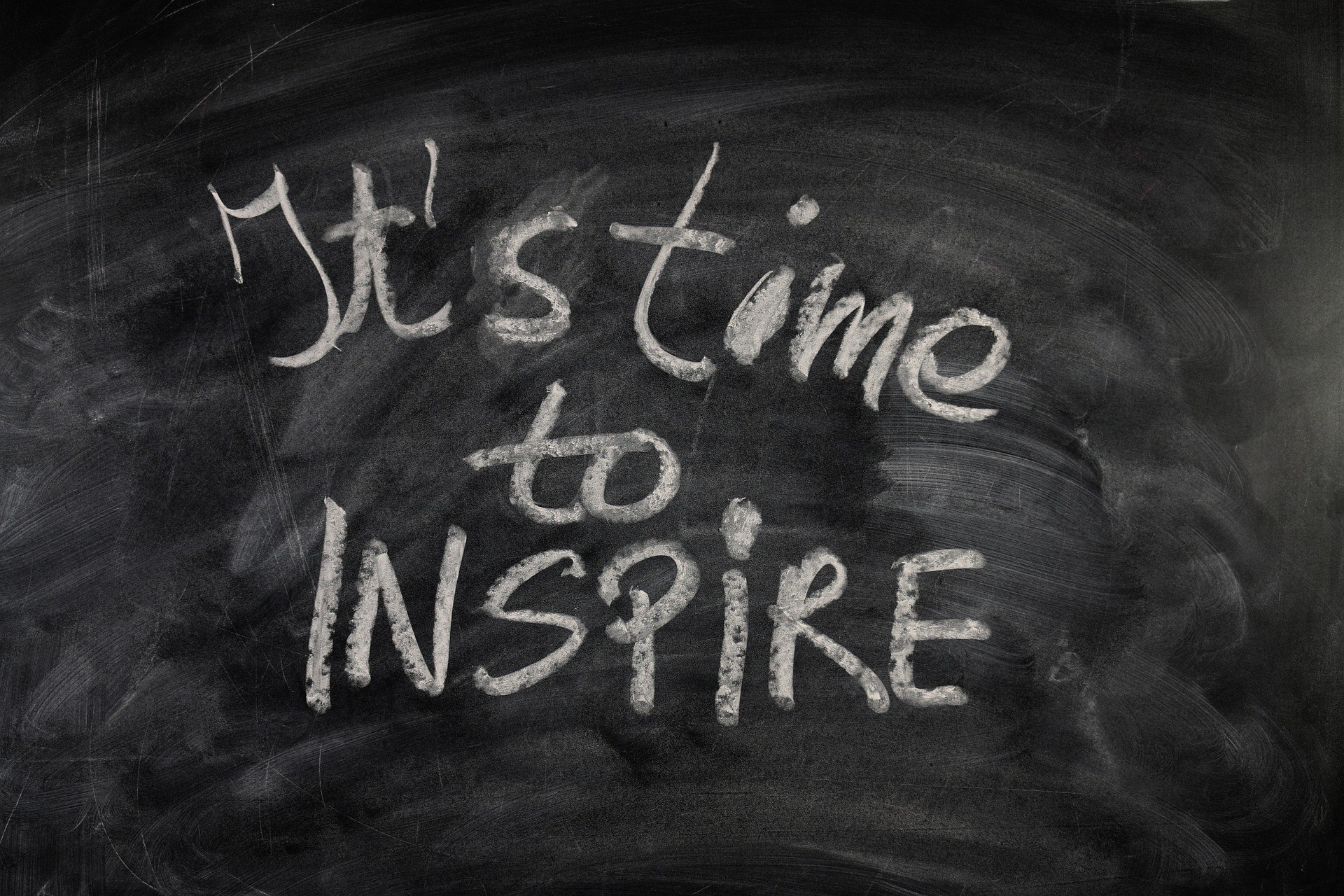 Looking for Career Inspiration It is time to inspire