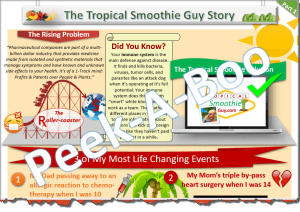 Tropical Smoothie Guy Story Part 1 Halfsie