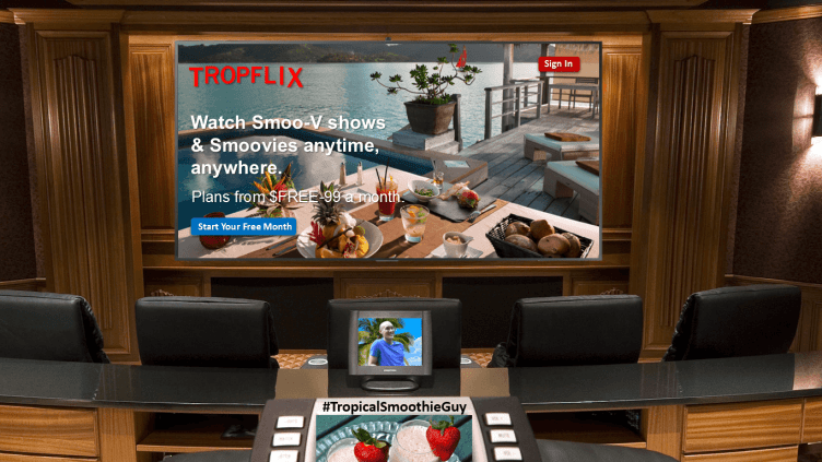 TropFlix Movies About Food