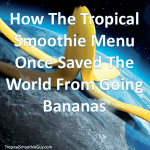 Tropical Smoothie Menu-Instagram