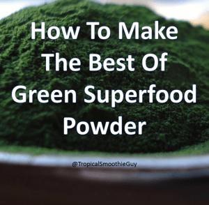 Green Superfood Powders