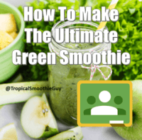 Green Smoothie Group Class