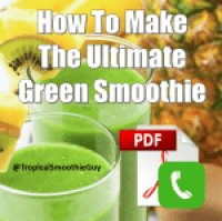 Green Smoothie Over the Phone class