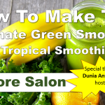 Green smoothie class adore salon youtube cover