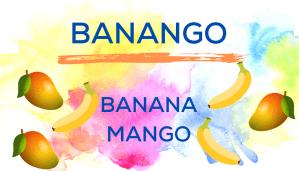 Shaved Ice Flavors-Tropical Sno Peoria-BANANGO: sweet banana, aromatic mango..