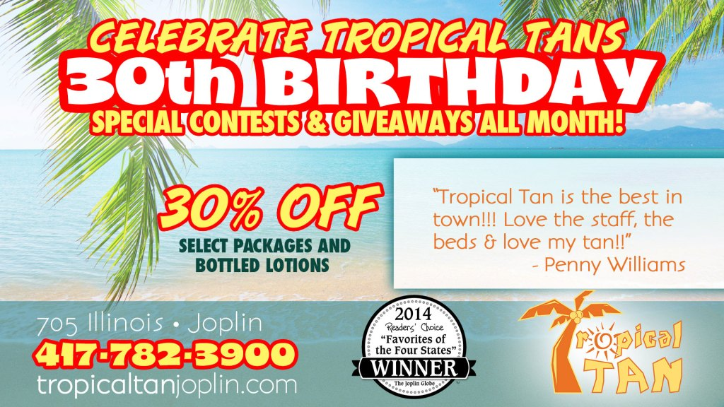 TropicalTan_30thBday
