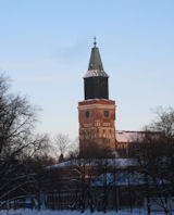 Turku in the snow