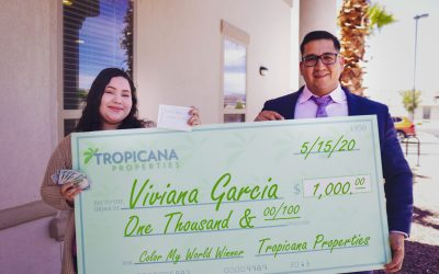 Congratulations to Viviana Garcia, $1k Winner of Color My World Contest