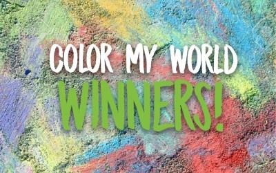 Color My World Winners