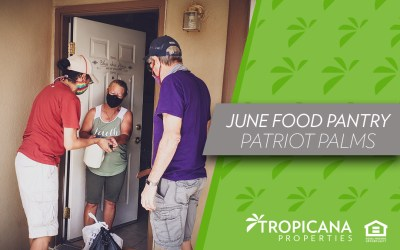 June Food Pantry – Patriot Palms
