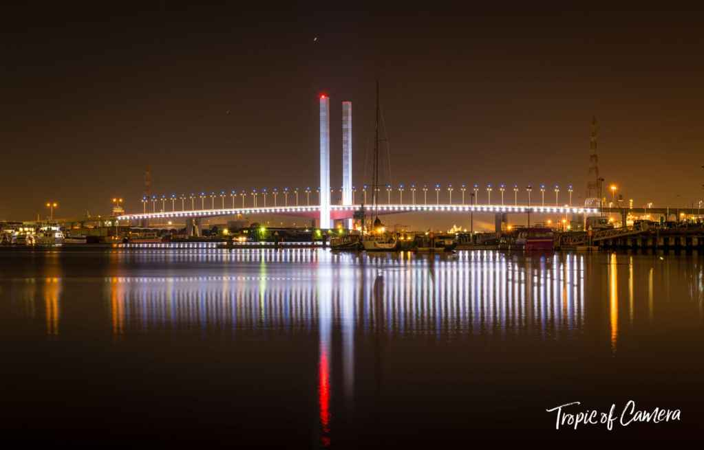 Bolte Bridge at Docklands, Melbourne Australia