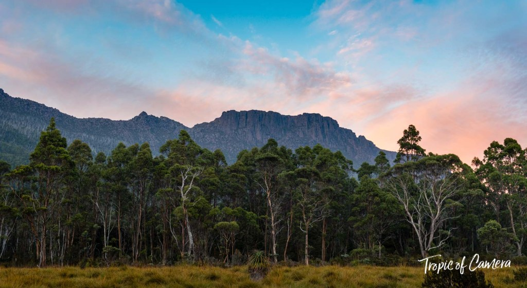 Sunset on the Overland Track, Tasmania Australia
