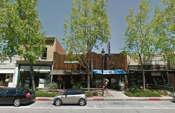 Downtown San Dimas' western facade | Google Maps