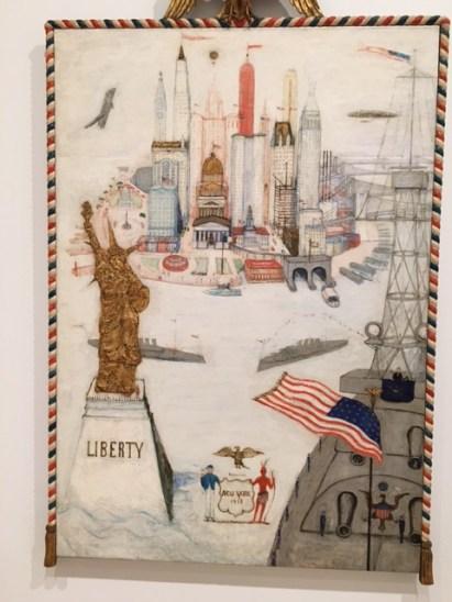 florine stettheimer new york city liberty