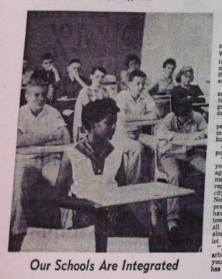 1963 - Our schools are integrated - Durham Morning Herald June 9th
