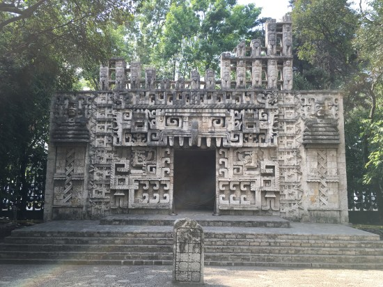 The museum goes out of its way to recreate architecture of the pre-Columbian period; it's appreciated