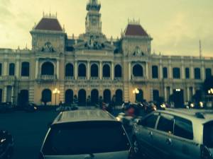 A touch of colonial imperialism in Ho Chi Minh City
