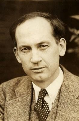 Economist and media theorist Harold Innis