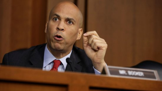 cory booker mad