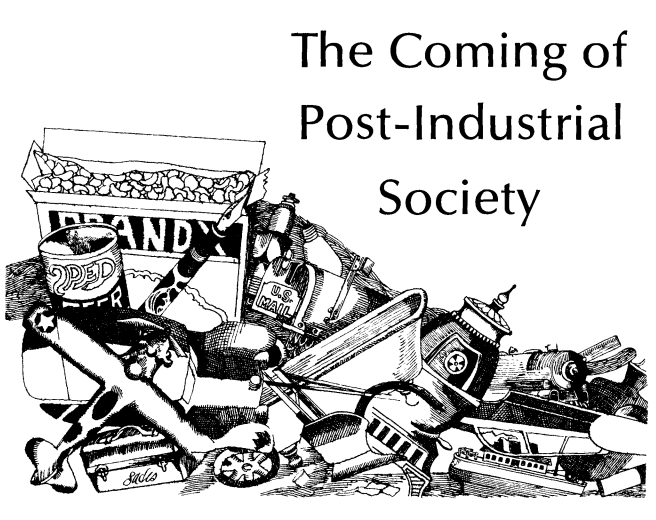 13 Great Books on the Post-industrial Society