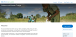 E-learning Course: Impact of Climate Change on Children