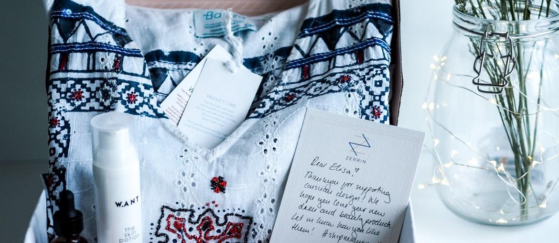 Zerrin stylish sustainable fashion