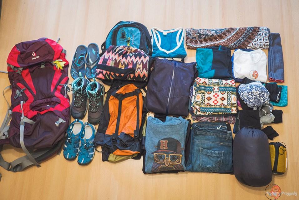 jak spakować plecak