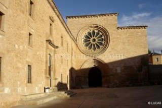 Entrada de Santa María de Huerta