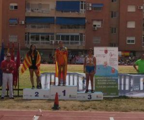 Arianna Pernice, bronce en el nacional por federaciones autonómicas