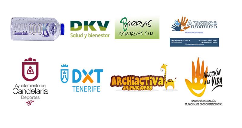 Empresas privadas y Organismos que colaboran con nuestro Club