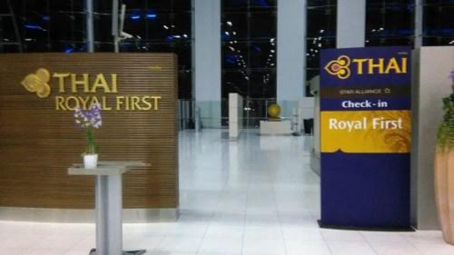 Royal first thai lounge thai airways bkk airport