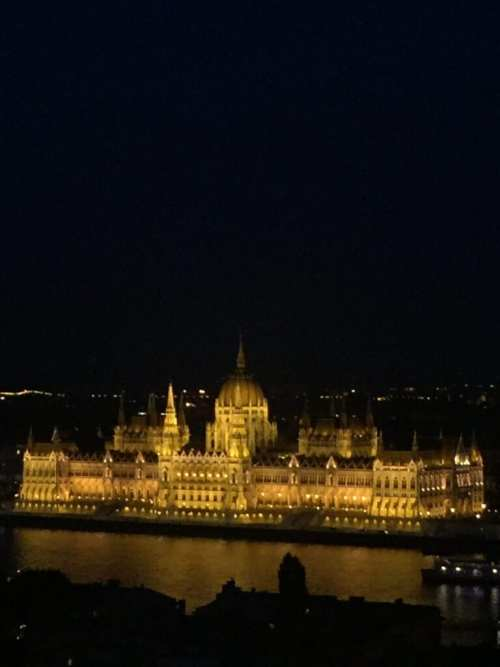 hungarian parliament view from buda castle budapest