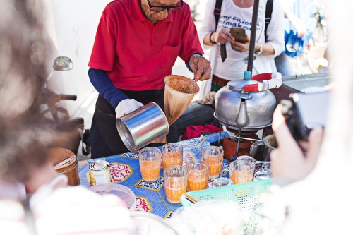 Thai Iced Tea in Bangkok