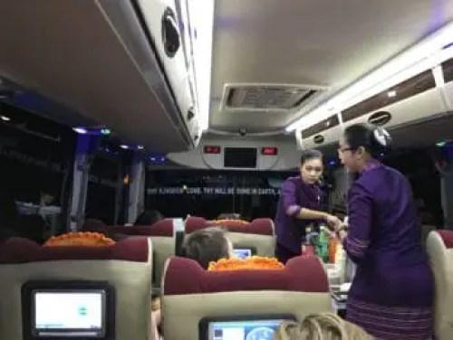 JJ express bus from Bagan to Yangon